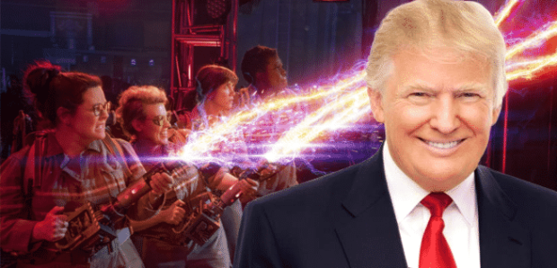 GHOSTBUSTERS Donald Trump