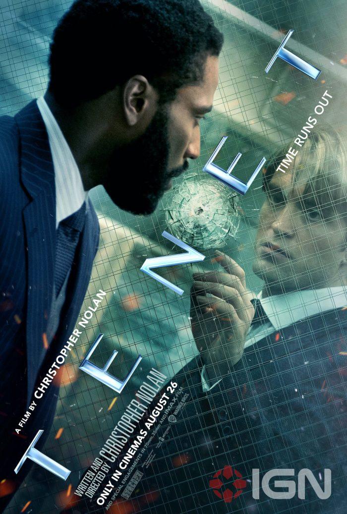 El thriller Tenet libera nuevos pósters de cara a estreno en cines