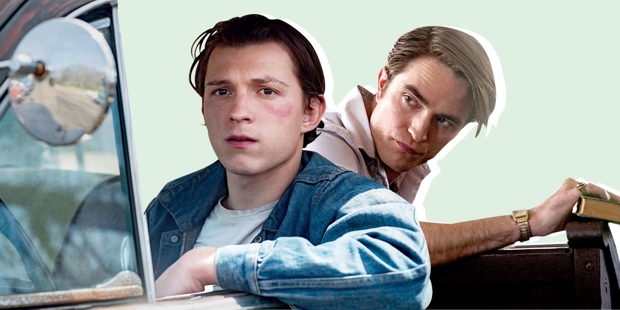 Netflix libera intenso primer tráiler de The Devil All the Time con Tom Holland y Robert Pattinson