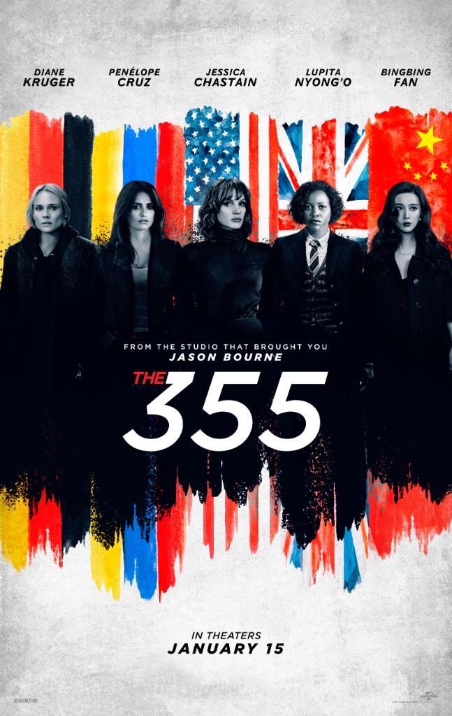 El primer tráiler del thriller de espías 355 revela explosivo poder femenino