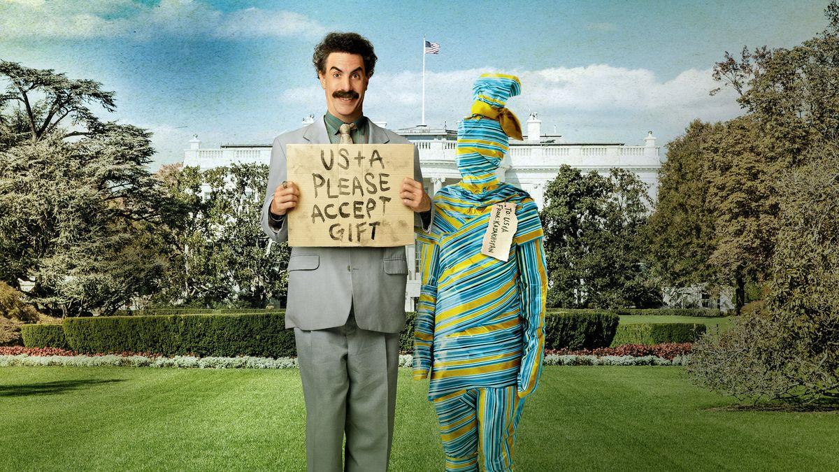 La secuela Borat 2 es la segunda película más vista en streaming en 2020 en EUA