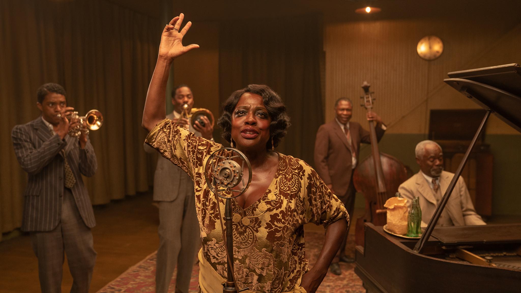 Netflix revela el primer vistazo a Ma Rainey's Black Bottom, última película de Chadwick Boseman
