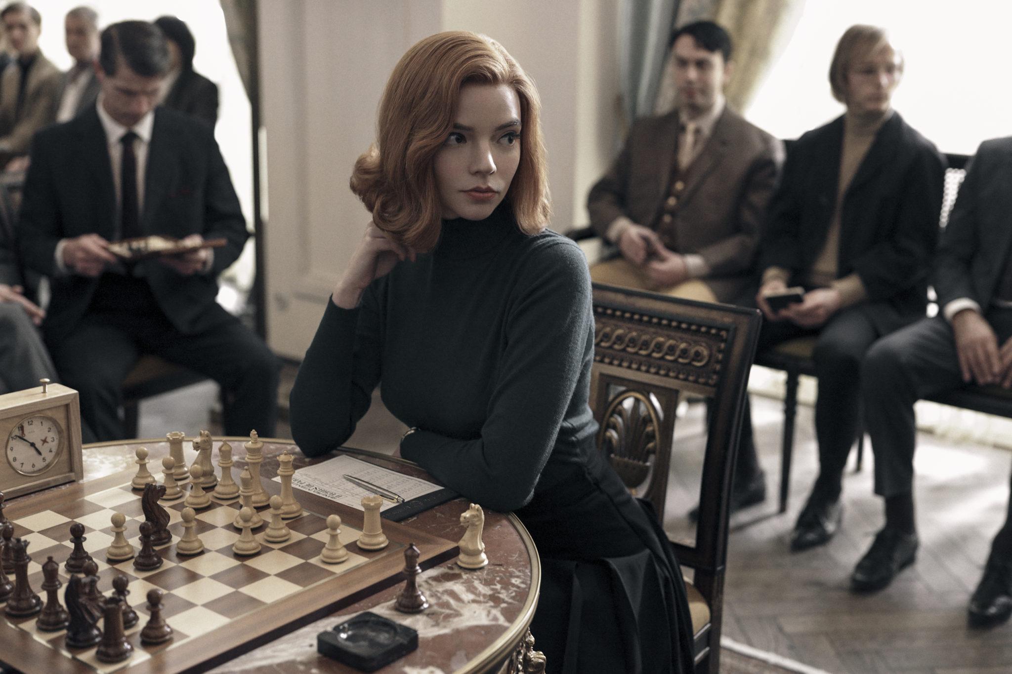 The Queen's Gambit se corona como la serie más vista de Netflix