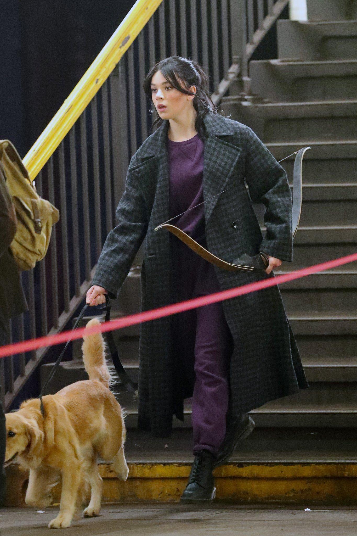 Hawkeye: Primer vistazo a Hailee Steinfeld como Kate Bishop