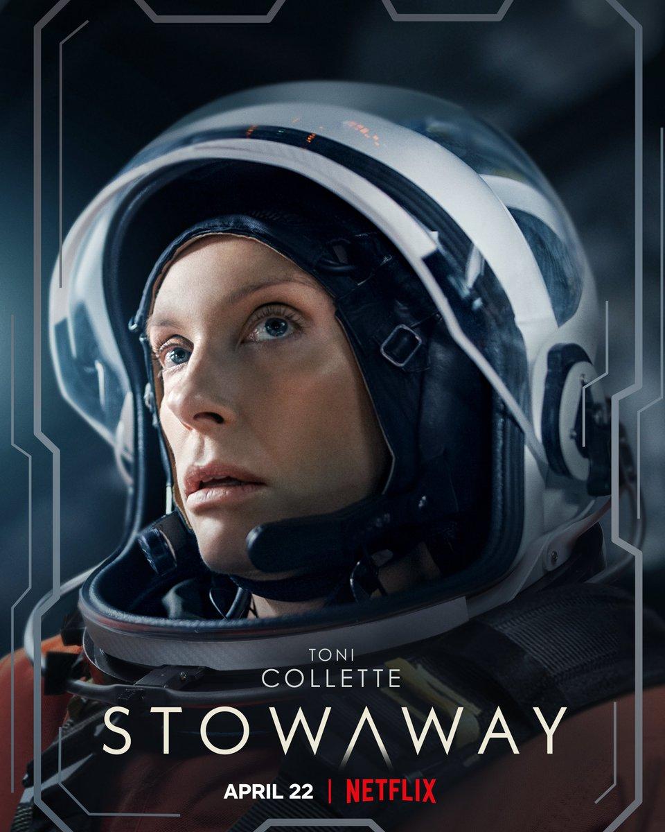 La ciencia ficción 'Stowaway' (Pasajero inesperado) libera character posters
