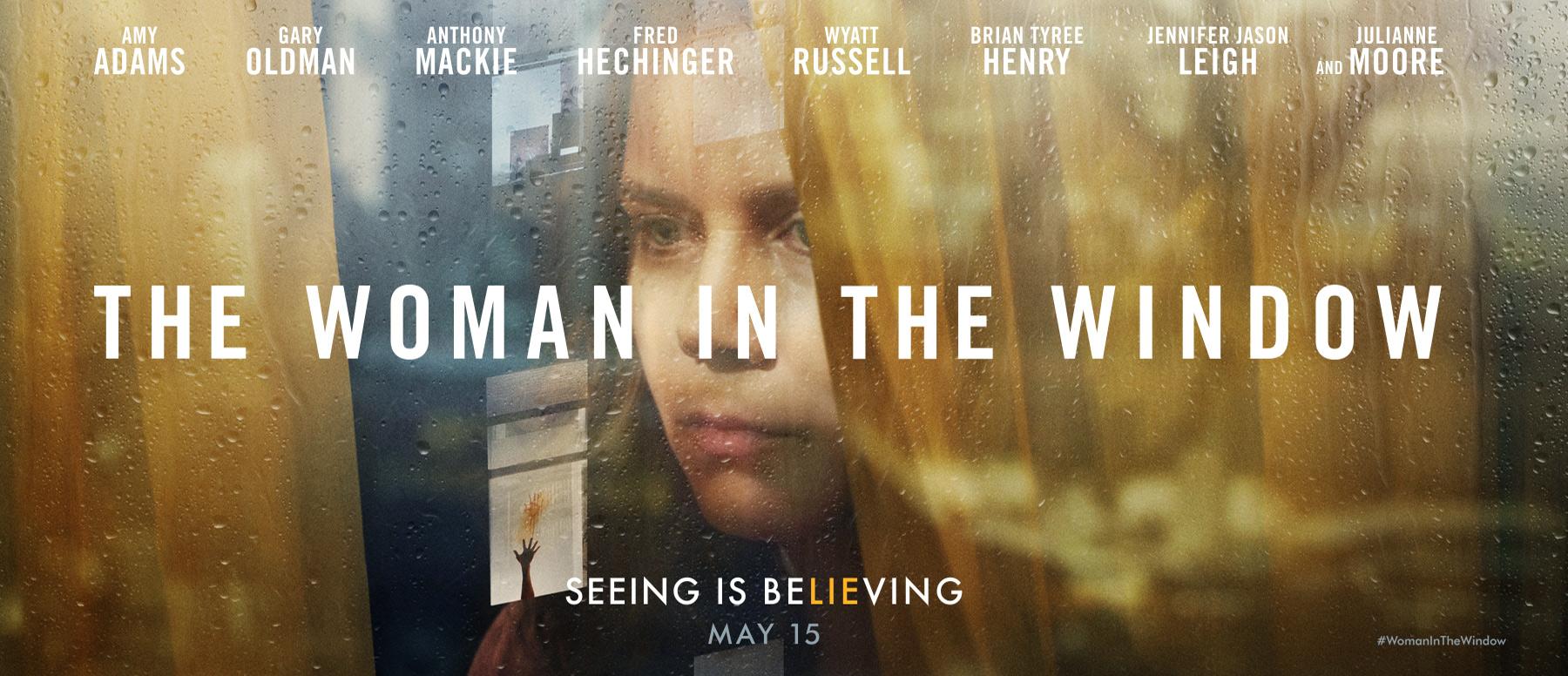 Hay nuevo tráiler del thriller 'The Woman in the Window' con Amy Adams