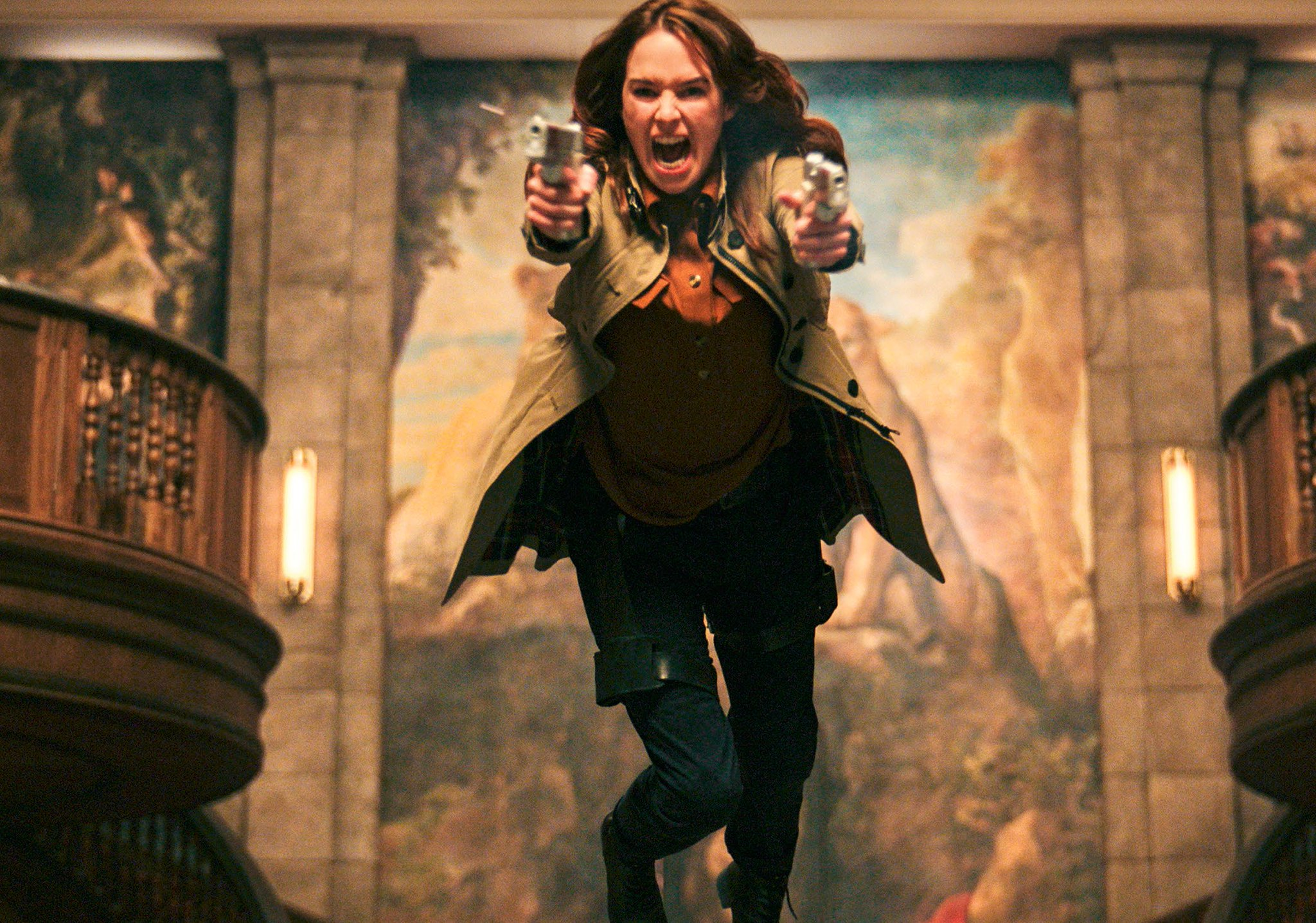 'Gunpowder Milkshake' llegará a Netflix USA en julio (póster oficial)