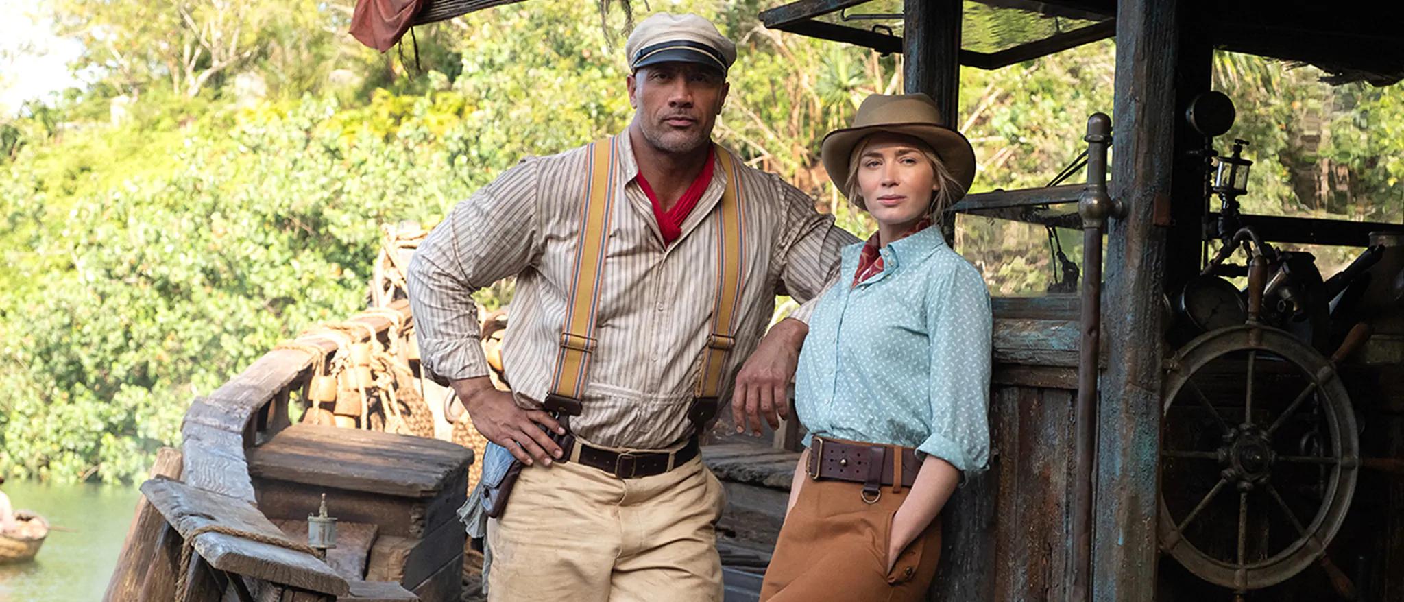 'Jungle Cruise' oficializa secuela con Dwayne Johnson y Emily Blunt