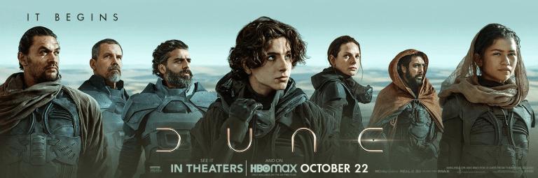 'Dune' de Denis Villeneuve libera character posters